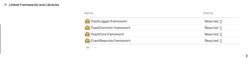 linked_frameworks